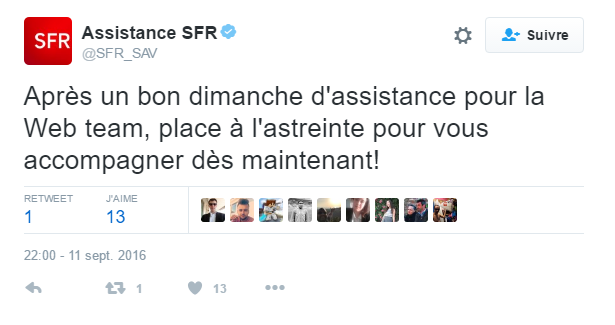 Social CRM SFR