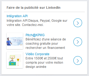 text ads linkedin