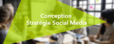 Conception d'un projet de communication sur les médias sociaux , Formation Social media manager, Stratégie Social media