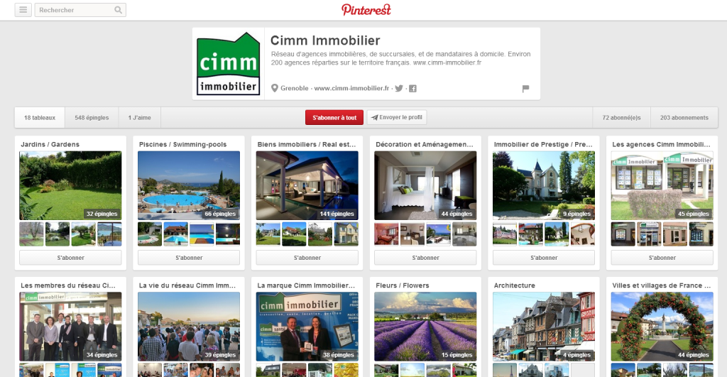 agence-immobiliere-pinterest