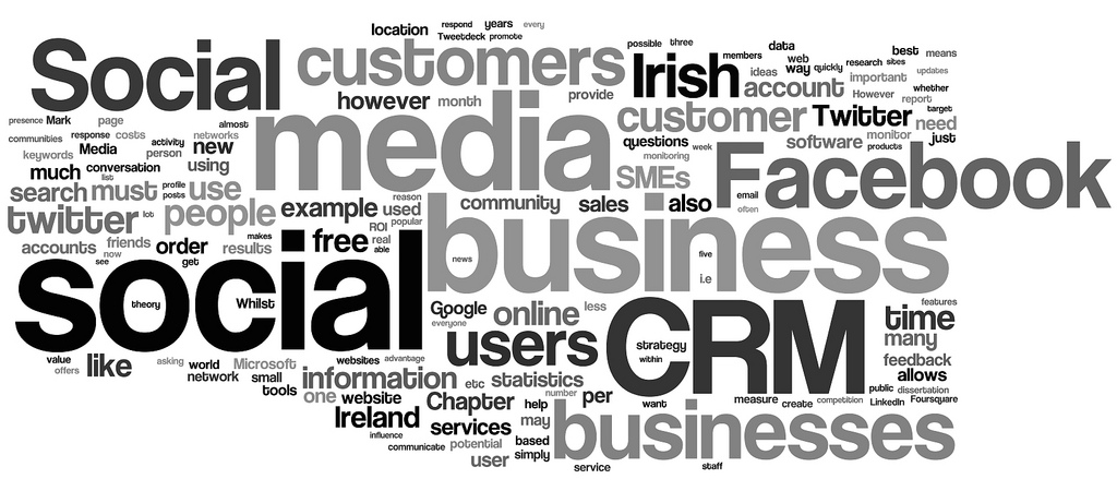 social CRM - social media