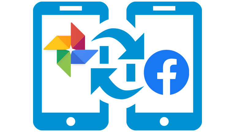 Facebook transfert Google Photos