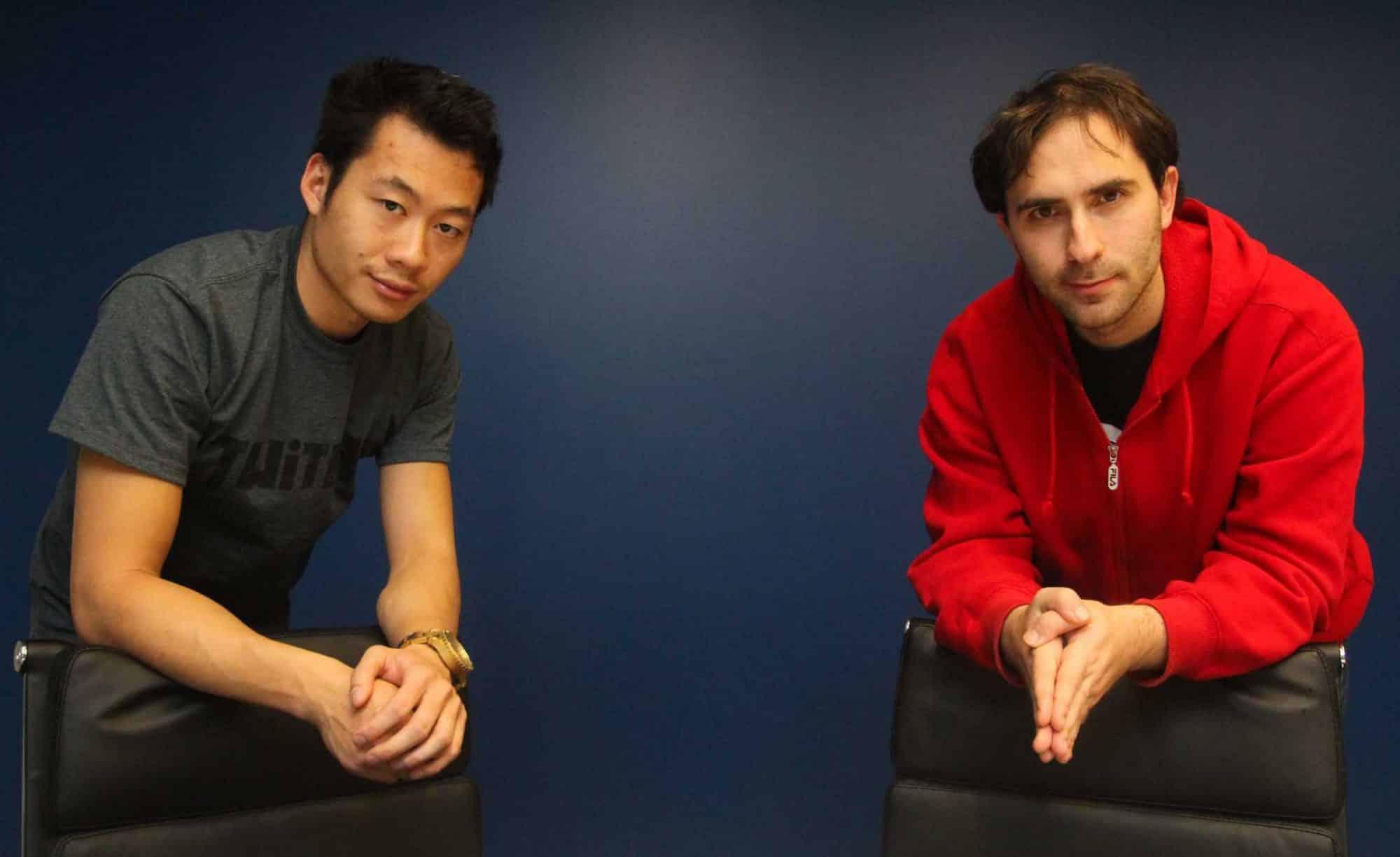 Justin Kan et Emmett Shear, fondateurs de Twitch
