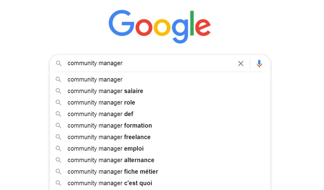google mots clés