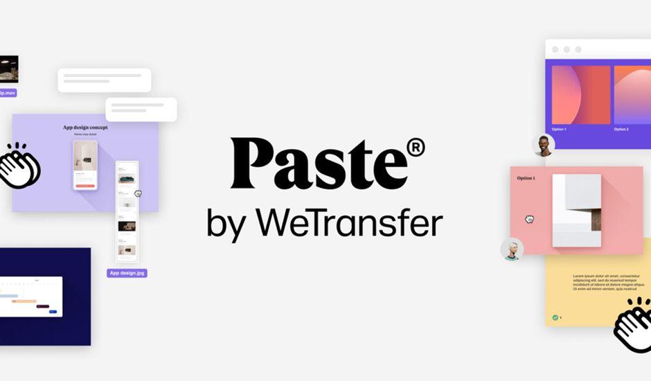 Paste WeTransfer