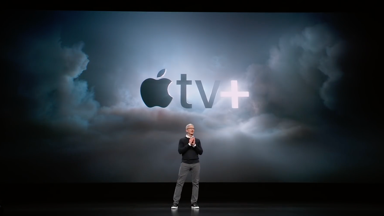 apple tv plus tim cook