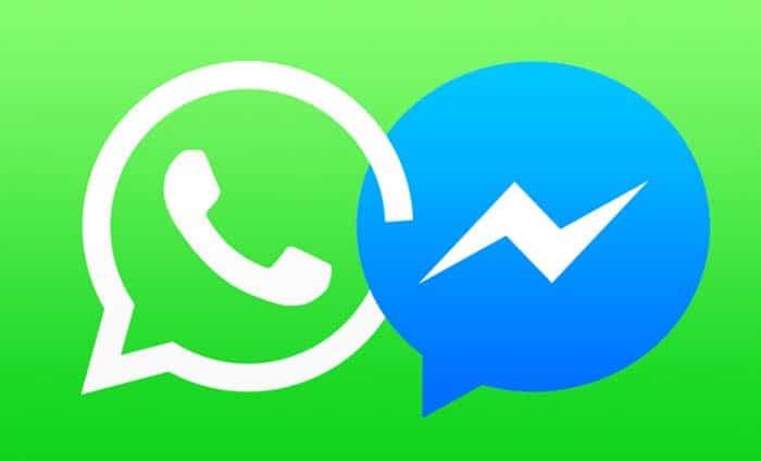 messenger whatsapp facebook