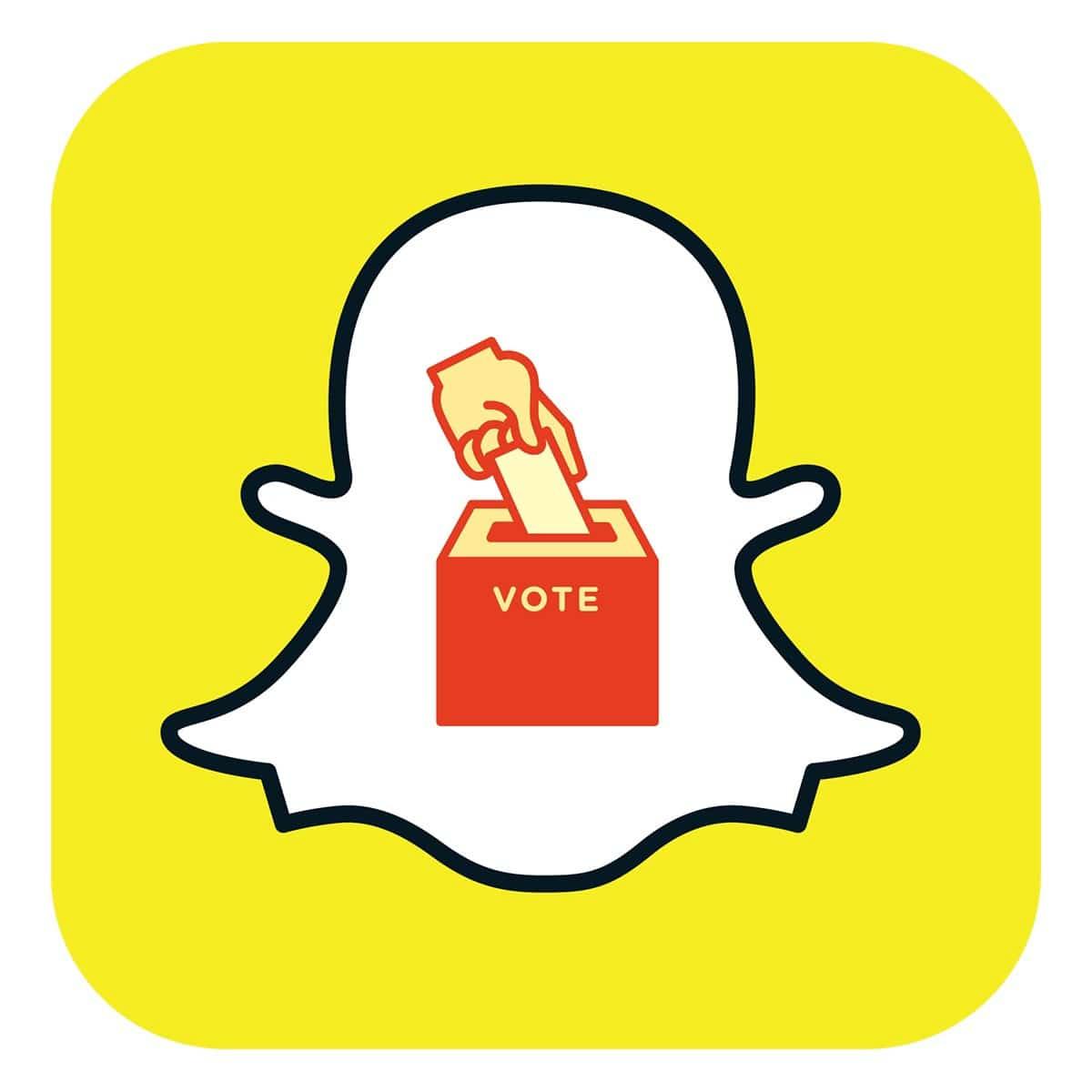 snapchat vote