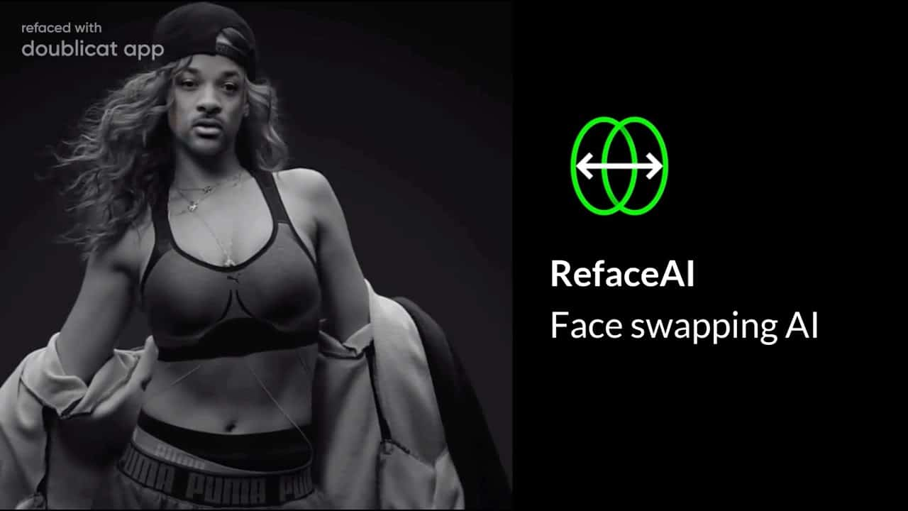 will smith doublicat reface app