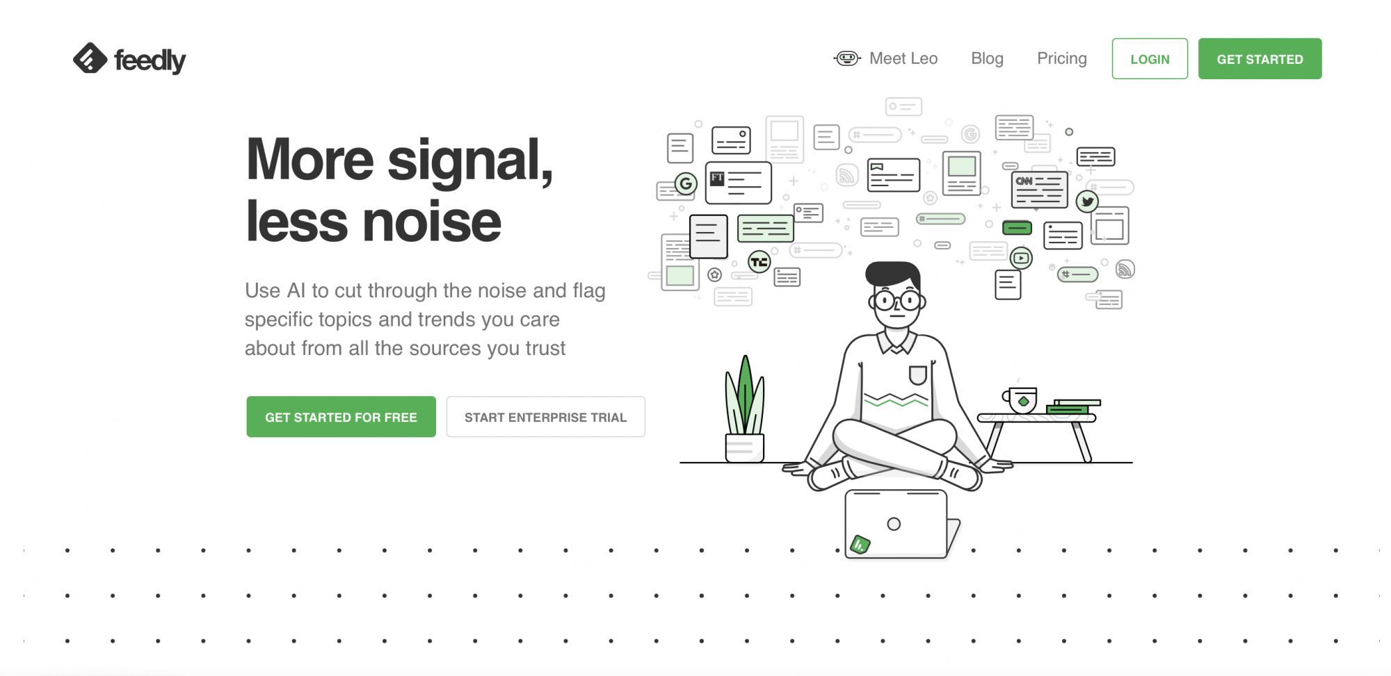 Plateforme Feedly